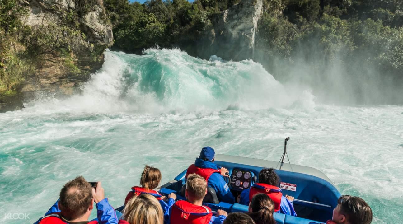 Huka Falls Jet Boat Ride Group